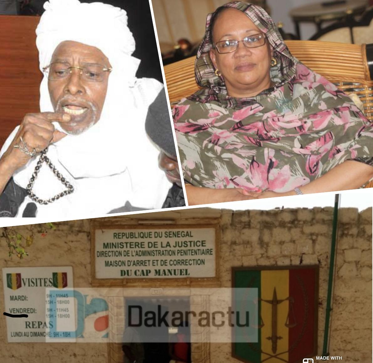 Cap Manuel : Hissein Habré victime d'un accident dans sa cellule. Son épouse relate le film des événements