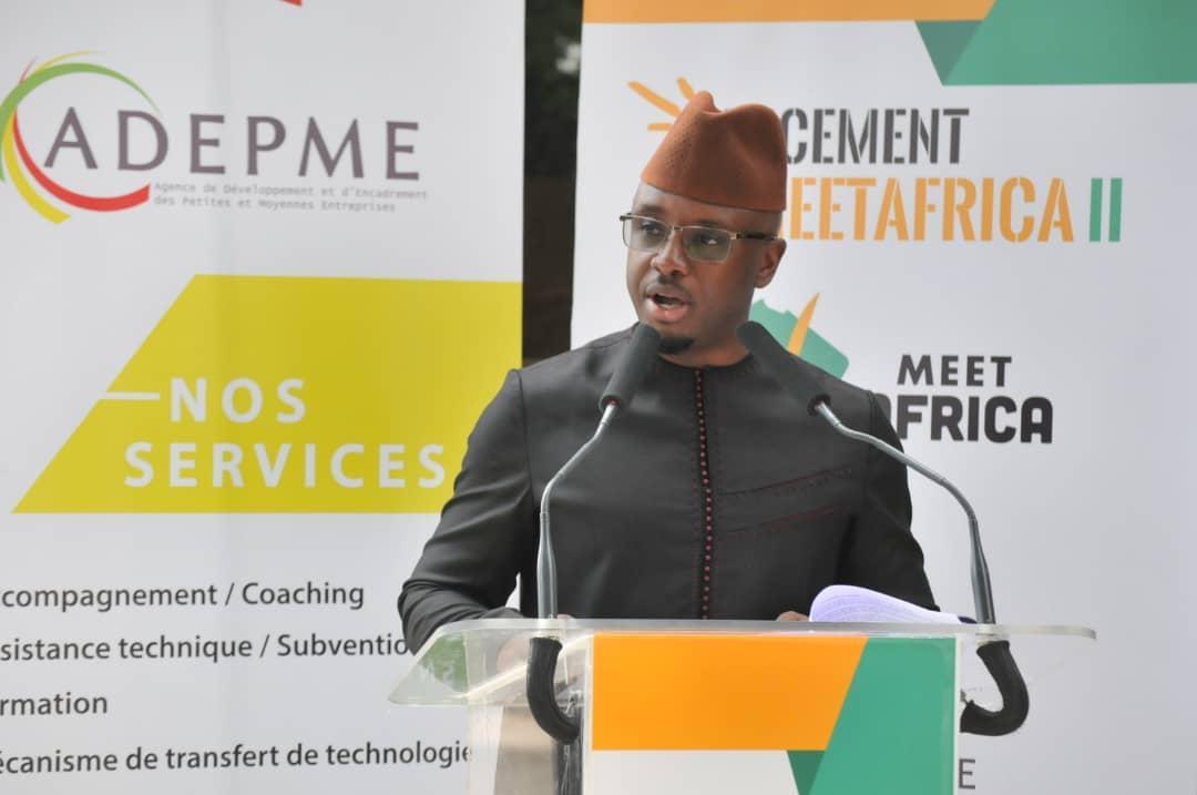 Lancement du MeetAfrica 2 par ADEPME: « Le monde est déréglé… la diaspora est une solution »  (Idrissa Diabira, DG ADEPME)