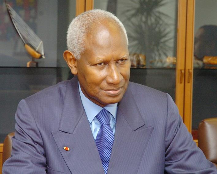 Abdou Diouf à Dakar pour les obsèques de Colette Hubert Senghor