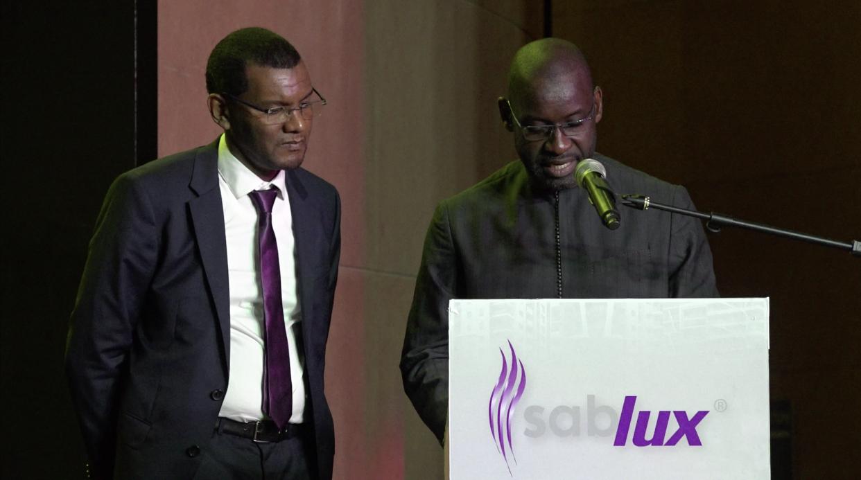 """Résultat de recherche d'images pour """"Amadou Lamine Ndiaye DG Sablux"""""""