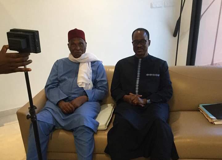 Contenu de la discussion avec Me Abdoulaye Wade : Madické Niang réserve la primeur au Khalife général des Mourides.