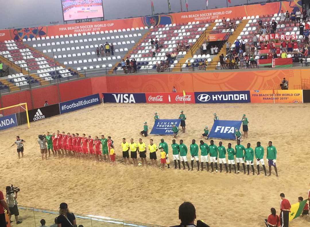 Mondial Beach soccer : Le Sénégal pulvérise la Biélorussie (7-2) et se relance...