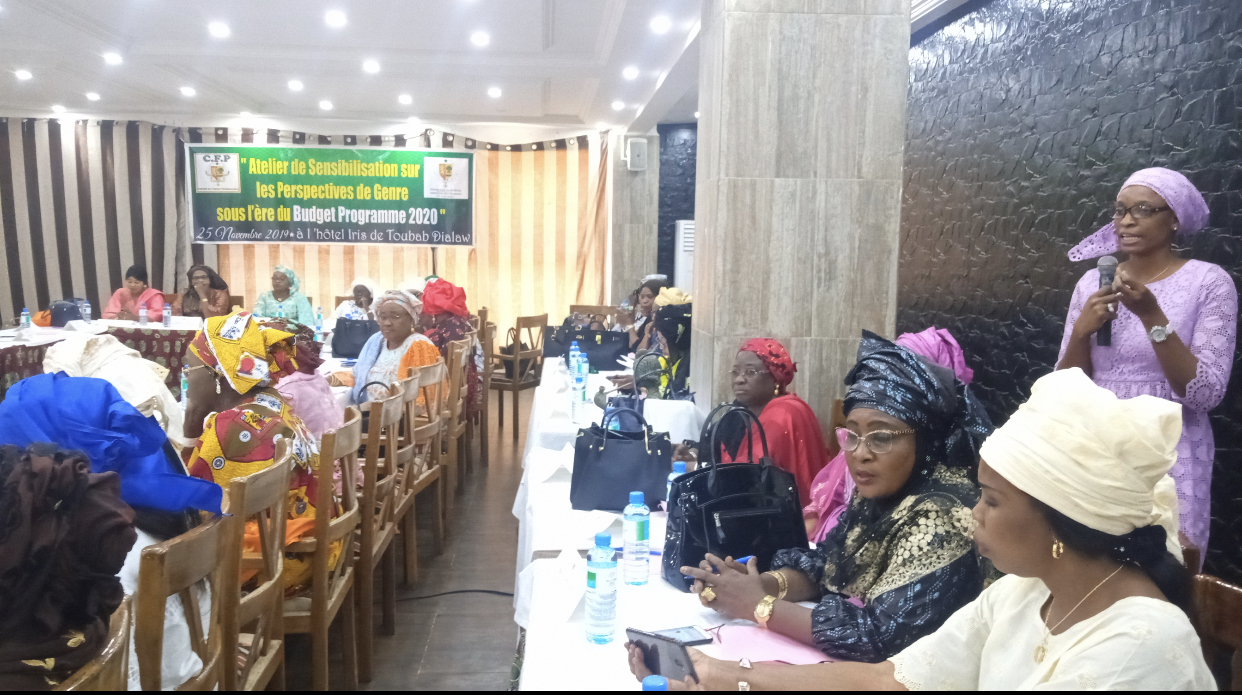 Atelier de partage des femmes parlementaires sur les perspectifs genres dans le budget programme de 2020 (Images)