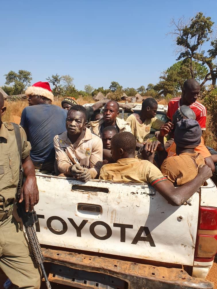 Trafic de bois : Les agents des Eaux et Forêts arrêtent 9 délinquants.