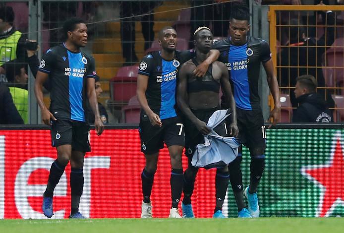 LDC / Galatasaray - Bruges : Krépin Diatta égalise d'un but exceptionnel (1-1) et se fait expulser dans la foulée...