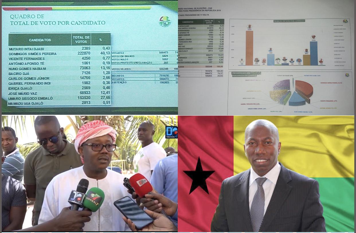 Guinée Bissau : la Commission nationale électorale proclame les résultats de la présidentielle, le deuxième tour confirmé !