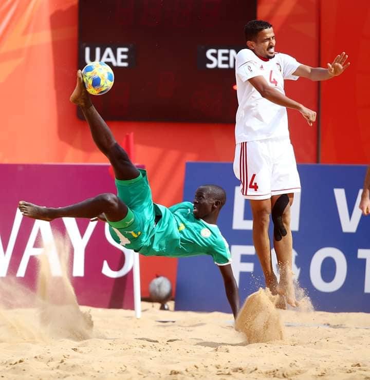 Mondial Beach Soccer : Le Sénégal décroche son ticket pour les quarts de finale