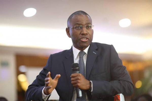Assemblée nationale / Le ministre Amadou  Hott annonce un projet de loi pour le développement du secteur privé.