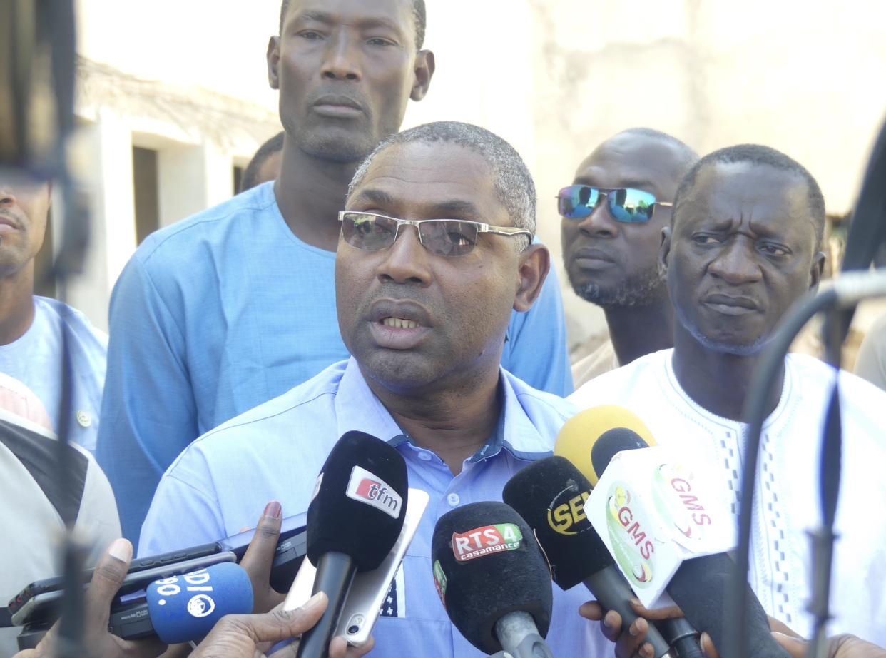 Université Assane Seck de Ziguinchor / Courfia Kéba Diawara : « Des chapiteaux sont mis en place pour accueillir les bacheliers orientés »