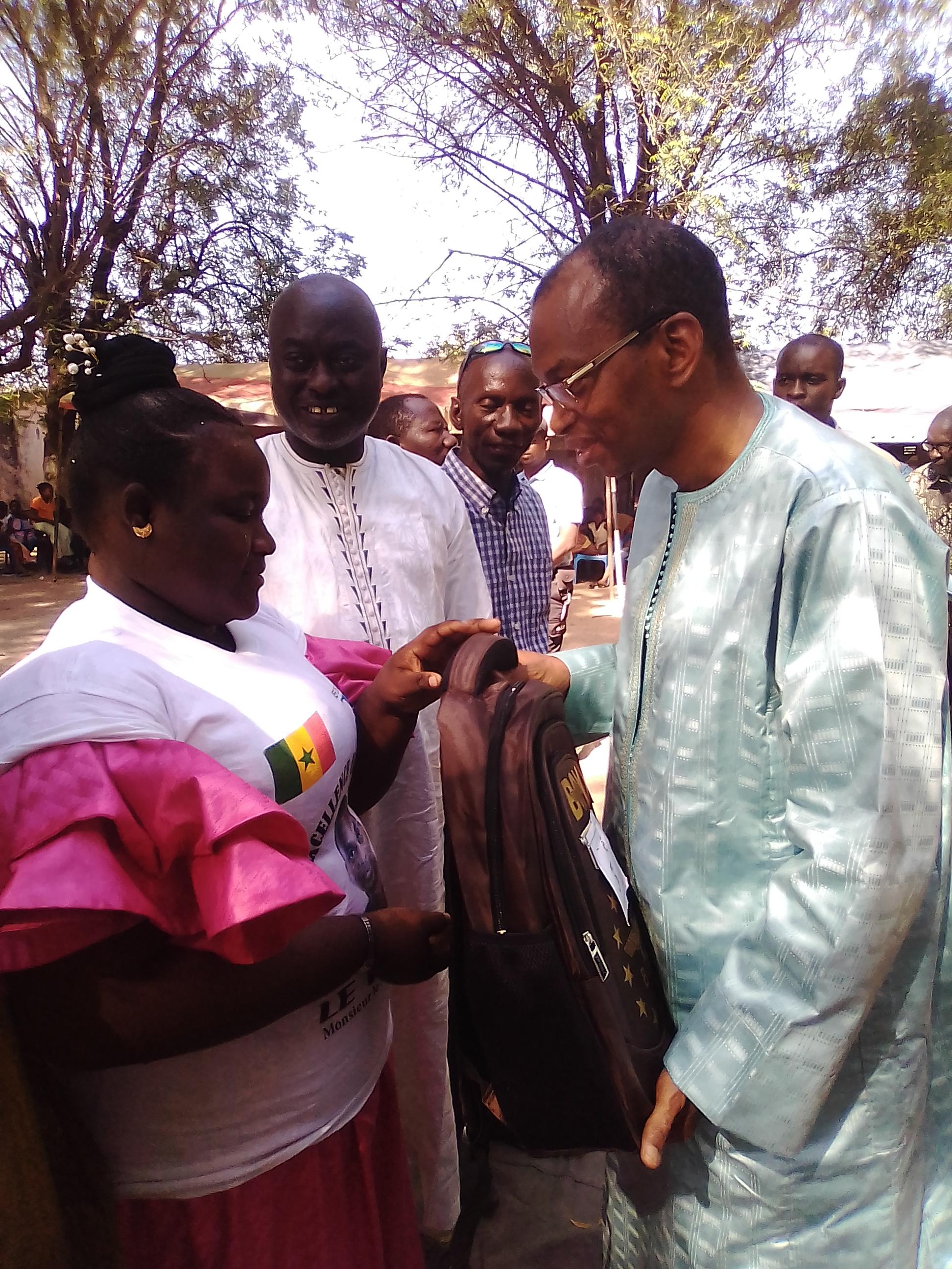 FÊTE DE L'EXCELLENCE DE L'IEF DE KOLDA : « L'école est un des rares outils  servant d'ascenseur social qui permet au villageois que je suis d'avoir visité… » (Moussa Baldé, parrain)