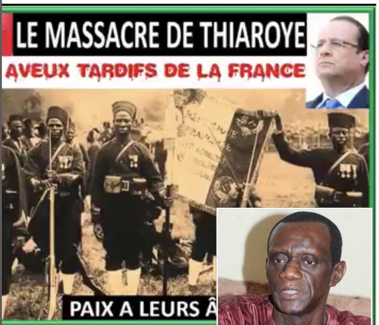 OPINION / MASSACRE DU CAMP DE THIAROYE - 1e DEC 1944: Les aveux tardifs de la France ! (Par Mame Mactar Guèye JAMRA)