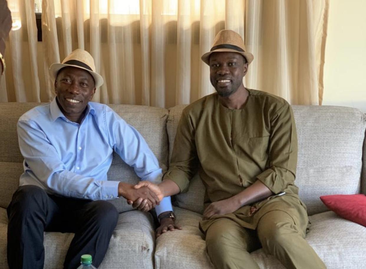 Présidentielle en Guinée Bissau : Ousmane Sonko soutient Domingos Simoes Pereira, candidat du PAIGC.