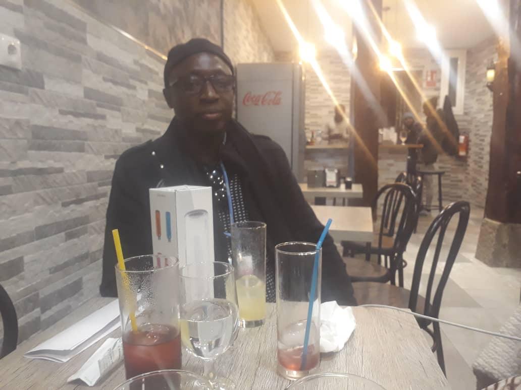 El Hadj Ibrahima Ndiaye, tenancier du restaurant « le Baobab »