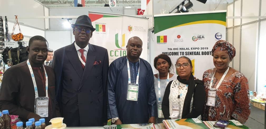 Économie / Foire internationale de l'alimentation et des cosmétiques Halal de Turquie : Le Sénégal réussit sa première participation.
