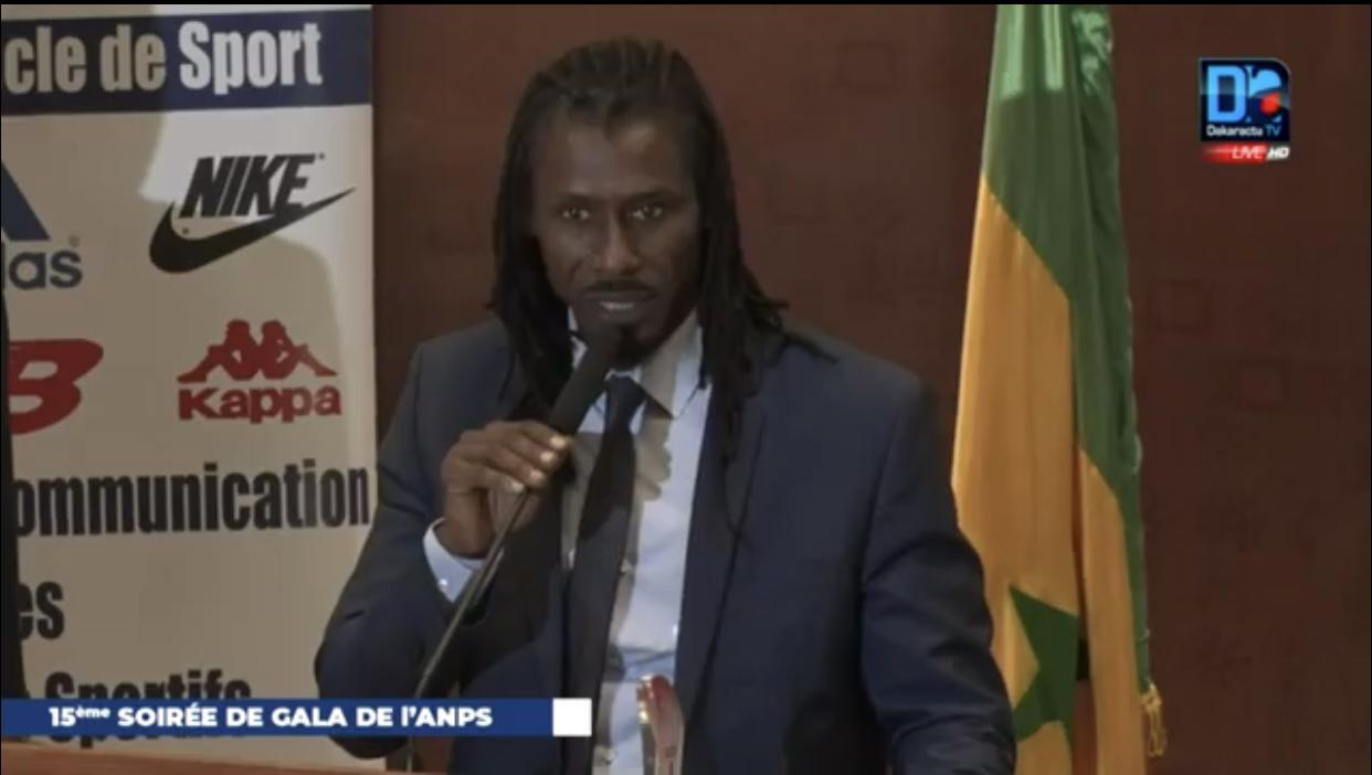 15 ème Gala de l'ANPS : Aliou Cissé rend hommage à Karim Séga Diouf...