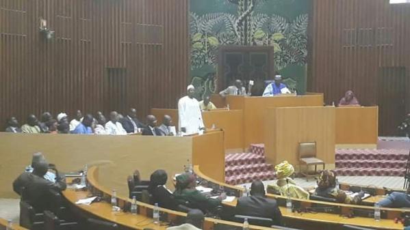 Assemblée nationale : Les chiffres du budget 2020 du ministère  du développement industriel et des petites et moyennes industries .