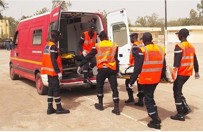 LINGUÈRE : Un camion militaire se renverse et fait 15 blessés.