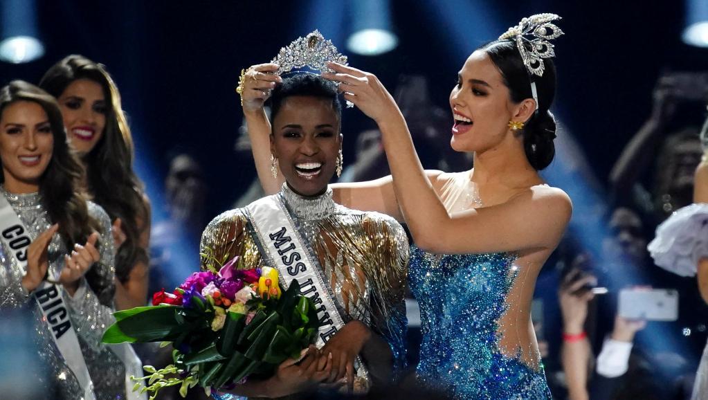 Coup de cœur. Miss Univers. Je suis noire, et belle avec mes cheveux crépus  (par Samba Ardo Ba)