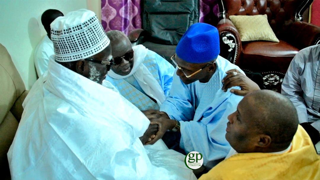 Visite auprès des chefs religieux du Sénégal : Le Cadre Unitaire de l'Islam rebaptisé « Front Islamique » par Serigne Mountakha Mbacké