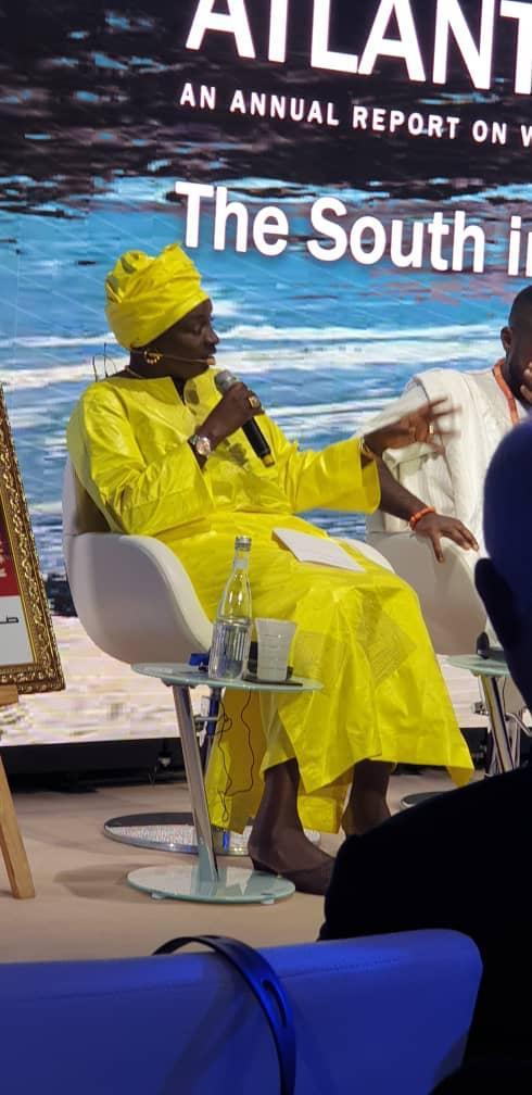 Mimi Touré : « La jeunesse africaine est un atout formidable pour le continent »