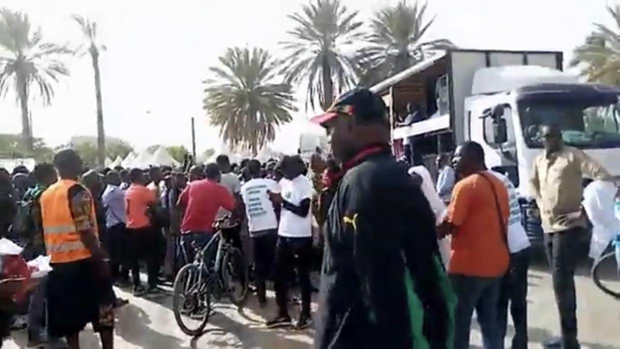 Marche de protestation de Nio Laànk : L'humeur Citoyenne envahit les rues de Dakar.