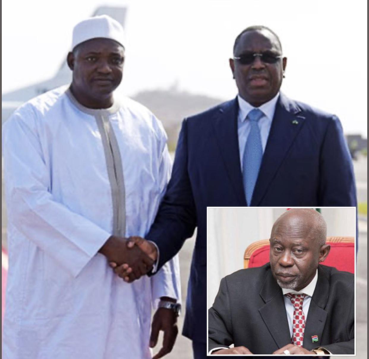 Ousainou Darboe invité à Dakar par le président sénégalais : Macky Sall à la rescousse de Barrow ?