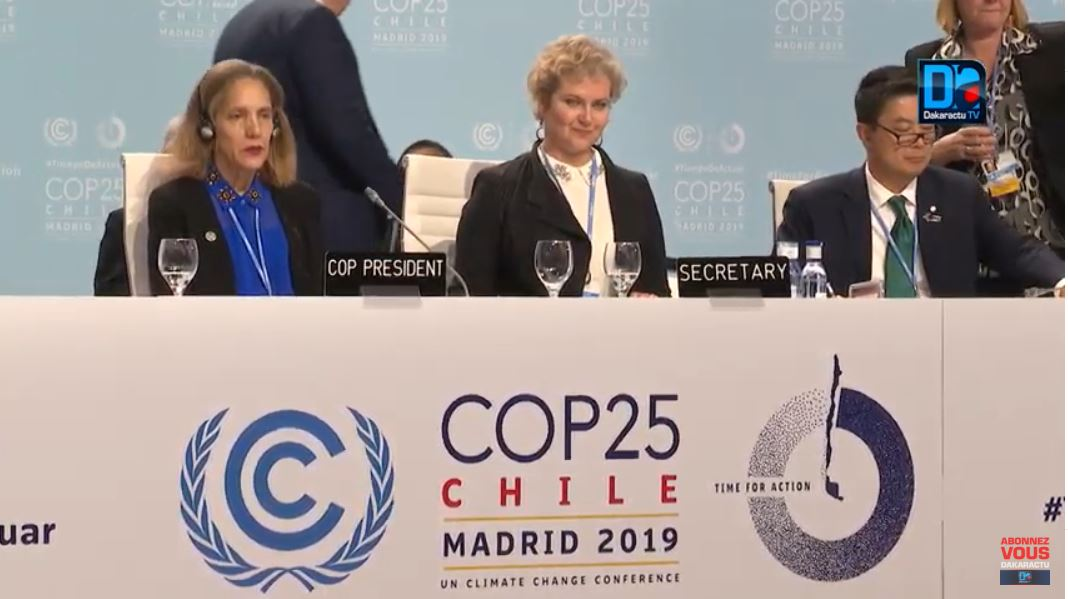COP 25 : pas de consensus sur le texte, la décision finale attendue pour la COP 26 à Glasgow