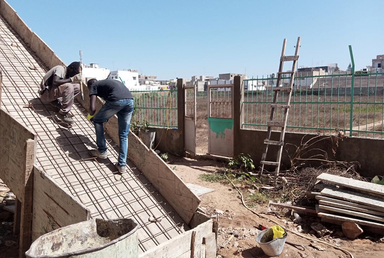 Réhabilitation stade municipal de Yoff : Le chantier toujours au point mort ?
