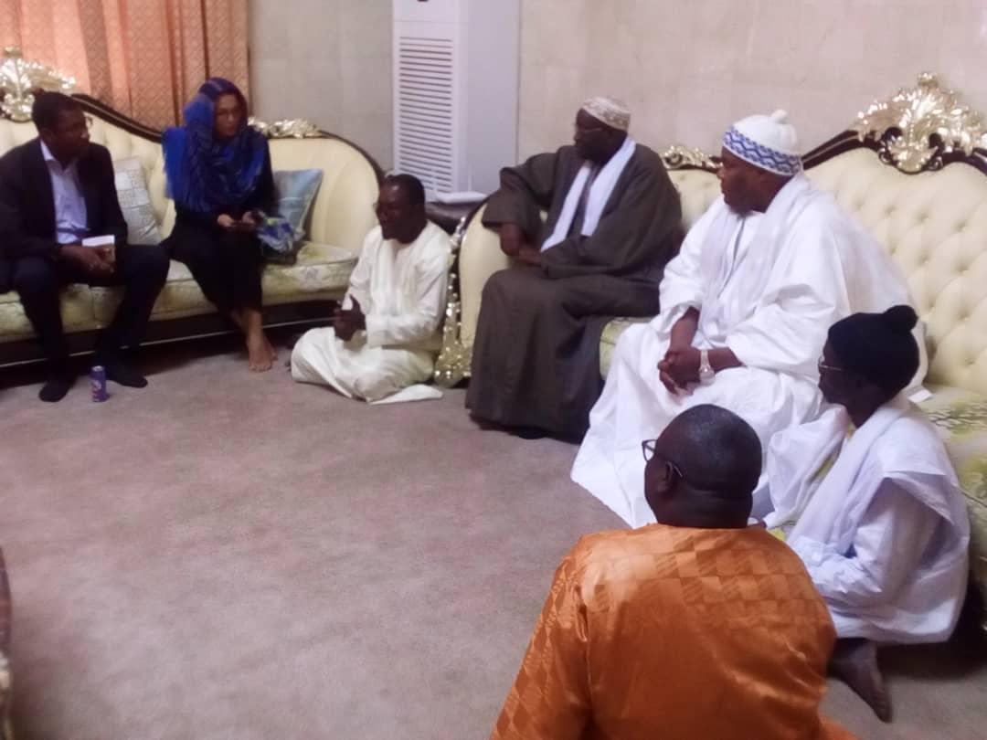 Le chargé des affaires religieuses de L'ambassade de France à Dakar en visite à la grande mosquée massalikoul jinaane ce mardi ( IMAGES )