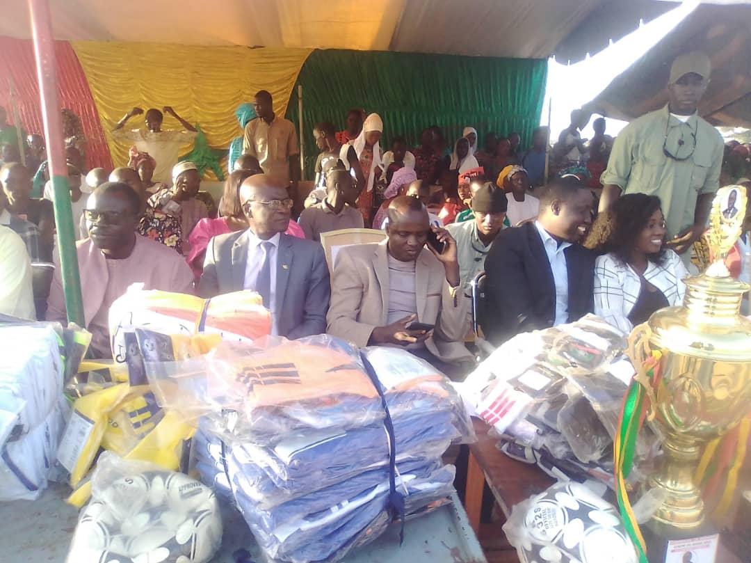 Finale coupe du maire de Ndiago : Pape Malick Ndour accompagne le mouvement Navétanes à travers l'édile local.