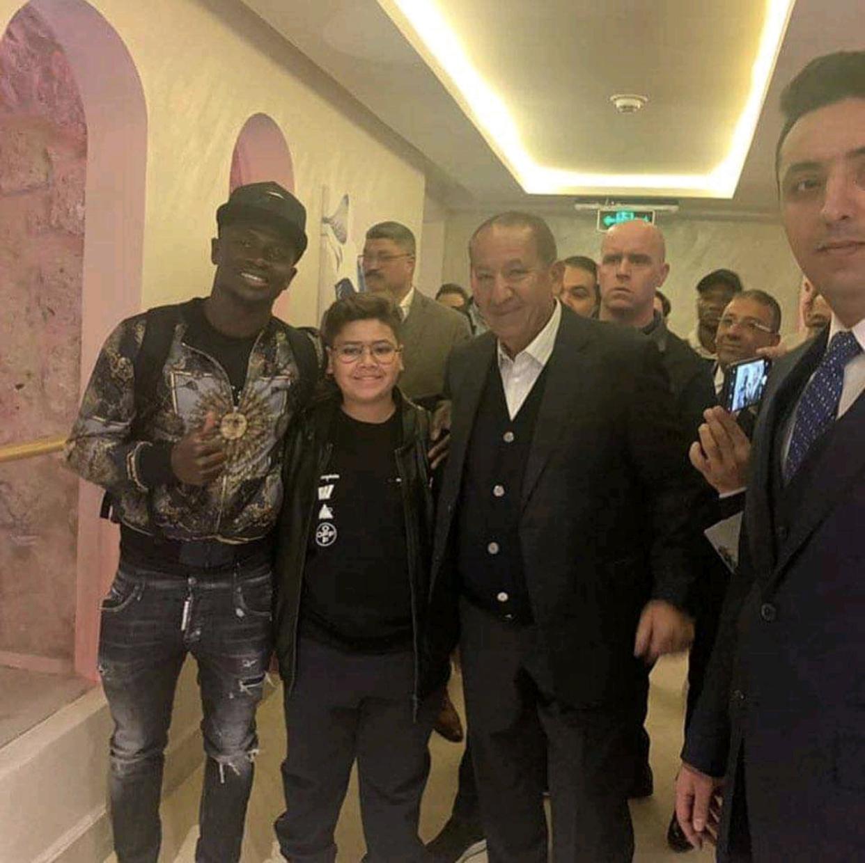 CAF Awards 2019 : Les premières images de Sadio Mané en Égypte...