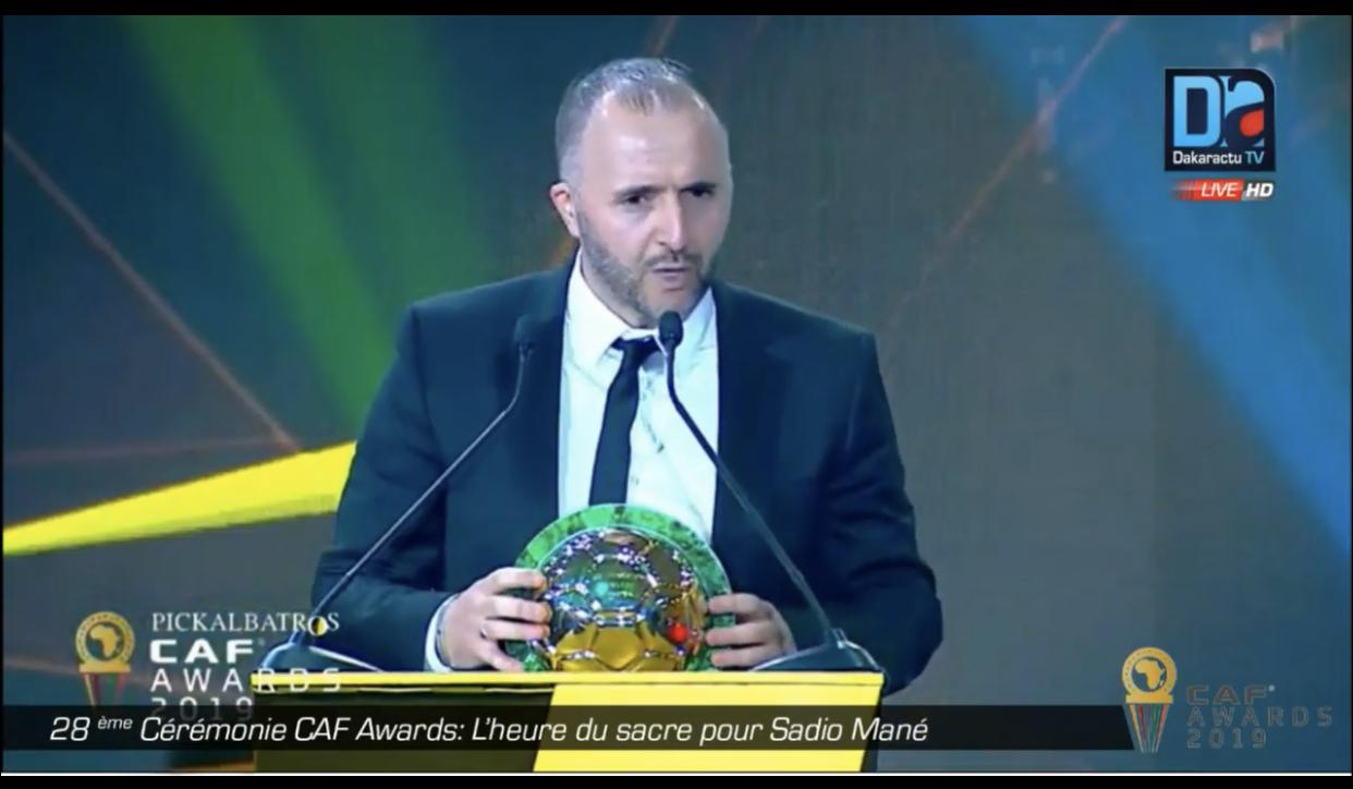 CAF Awards : Djamel Belmadi élu meilleur sélectionneur africain de l'année devant Aliou Cissé.