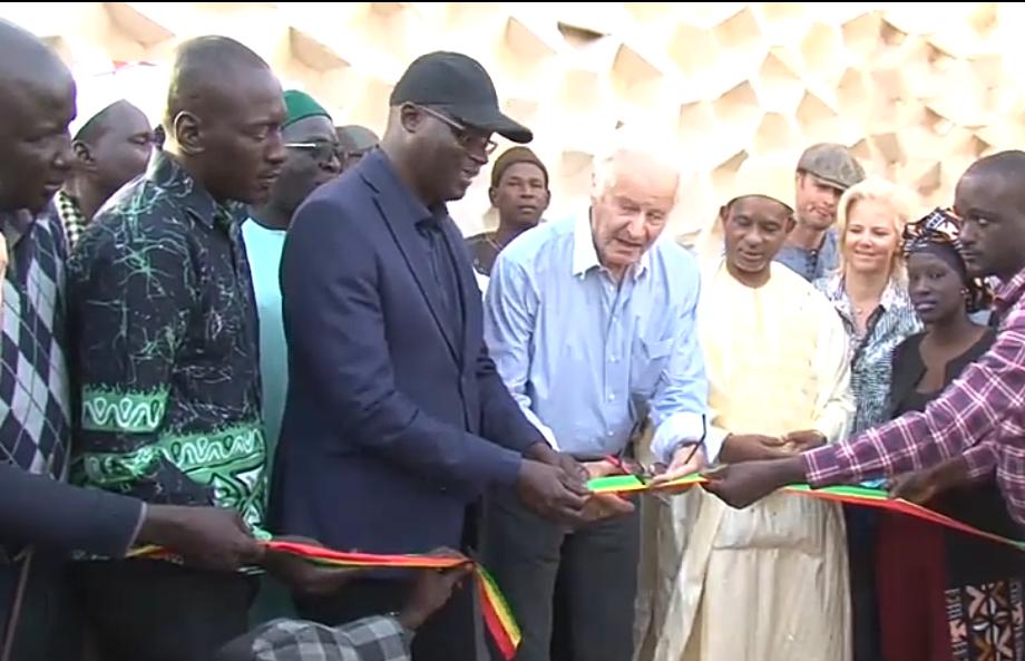 Inauguration du stade de Gandiol : Me Augustin Senghor a livré le joyau « sablonneux » aux populations.