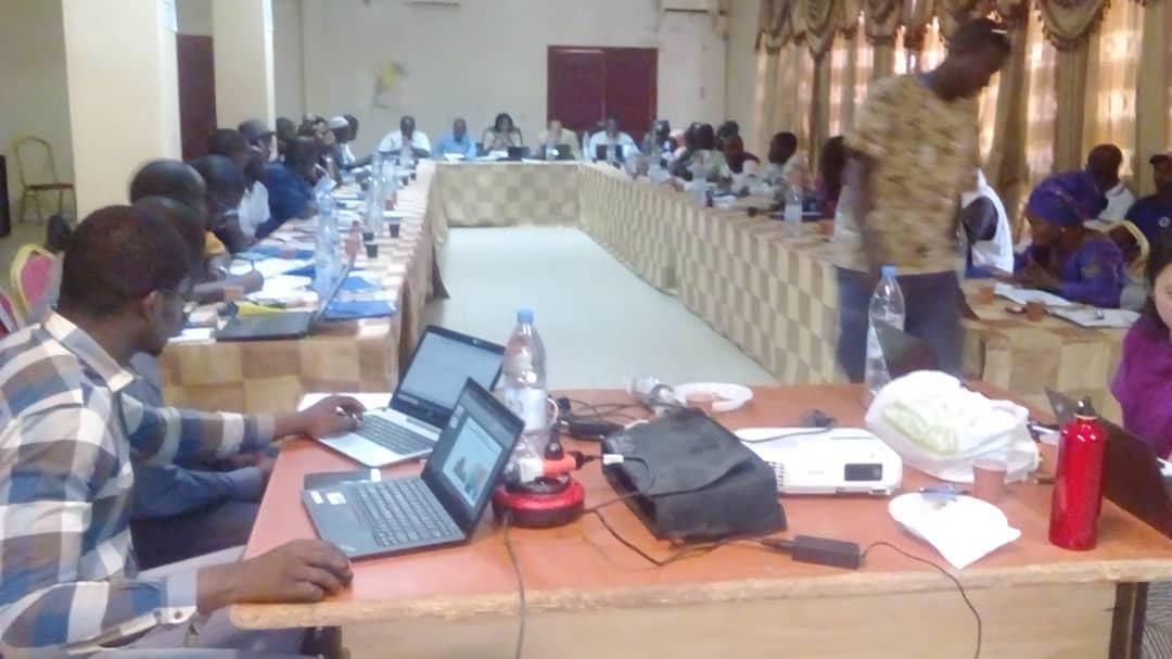 KOLDA : Les agents de l'état civil à l'école du logiciel « rapide-pro » pour l'enregistrement des naissances.