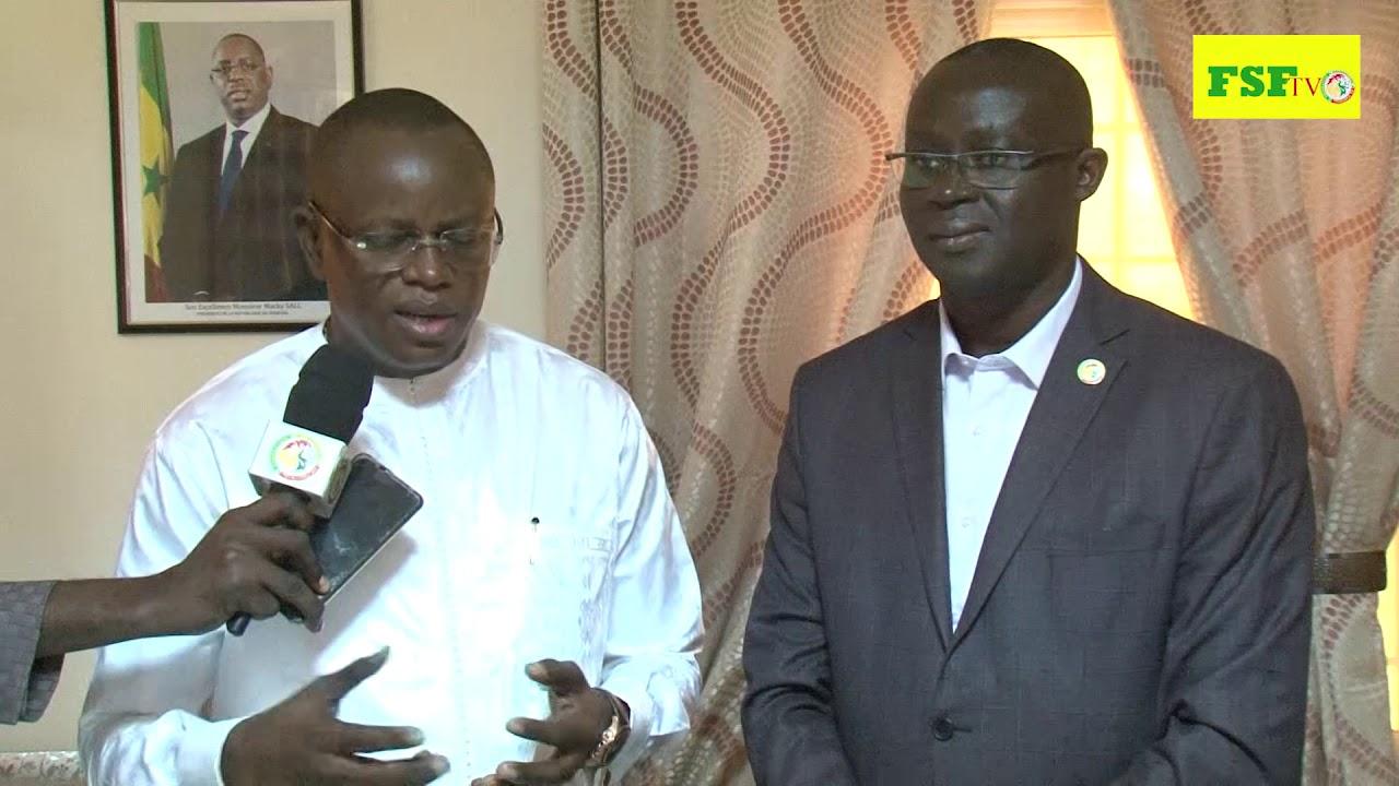 Réfection du stade Demba Diop / Matar Ba passe le relai à Augustin Senghor : « C'est avec beaucoup de confiance que j'ai signé ce protocole d'accord »