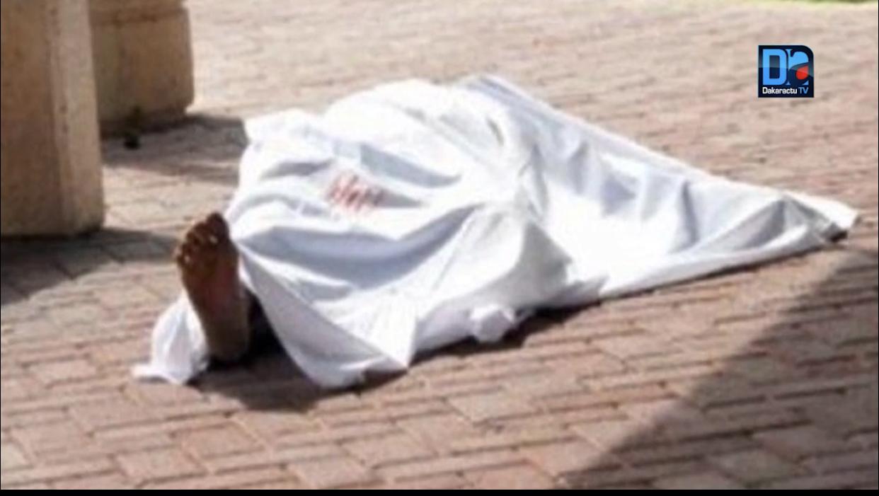 Kaffrine : Le corps sans vie d'un homme découvert devant un domicile.