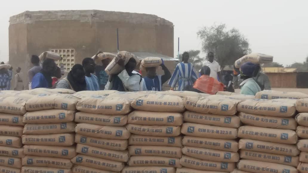 Daara et mosquée sur le site du stade Mbacké / Le maire participe à hauteur de 100 tonnes de ciment
