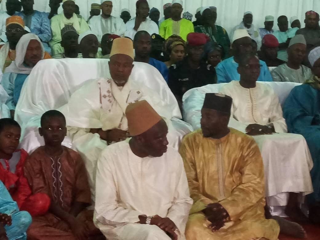 Ziarra Boghal  2020 / Le gouvernement  brille par son absence : Aucun ministre, encore moins directeur général originaire de la Casamance n'a assisté à la cérémonie.