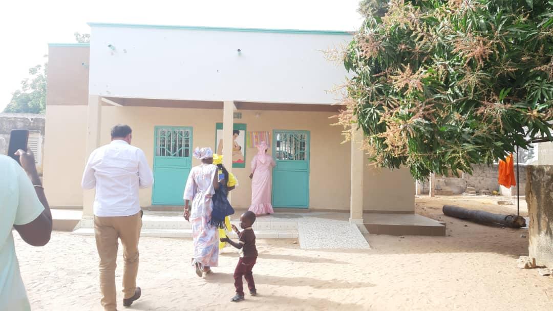 Fatick : Réhabilitation et équipement de la maternité de Diouroup polarisant 12 villages