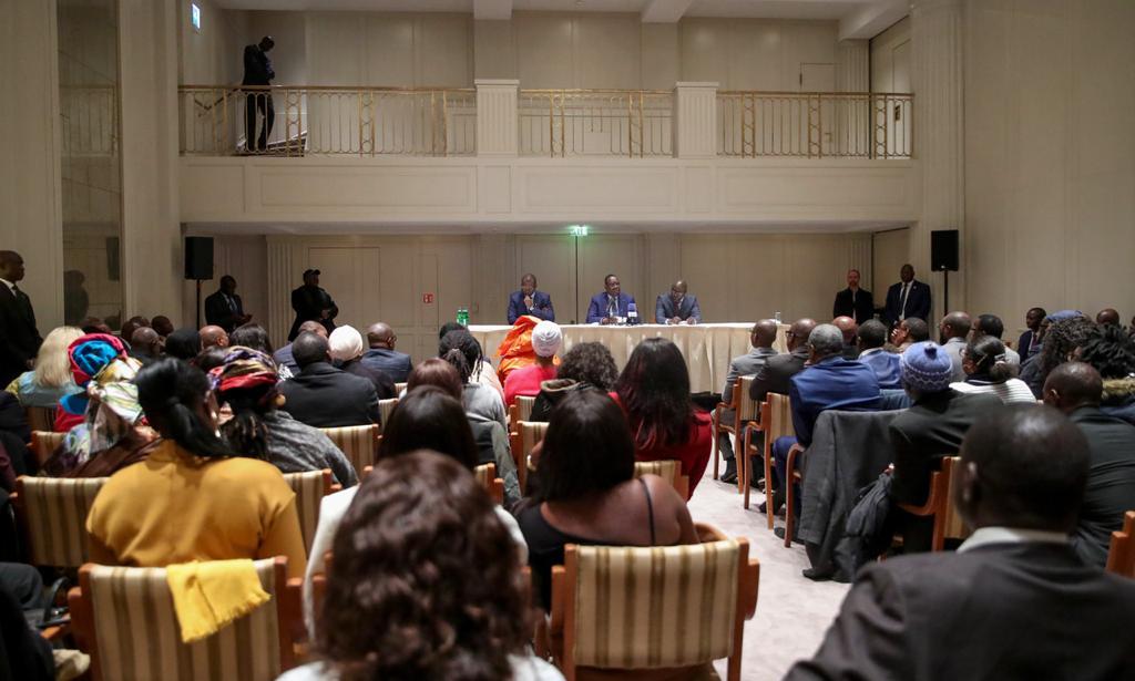 (ALLEMAGNE) RÉUNION ANNUELLE DES AA/PME : Le Président Sall, invité d'honneur,  en profite pour dégager quelques axes avec les Sénégalais de la diaspora.