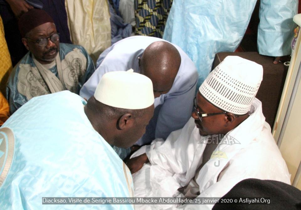 (Images) GAMOU DE DIACKSAO / Cheikh Bass Abdou Khadre Mbacké porteur d'un message du Khalife de Touba, parrain de l'édition 2020.