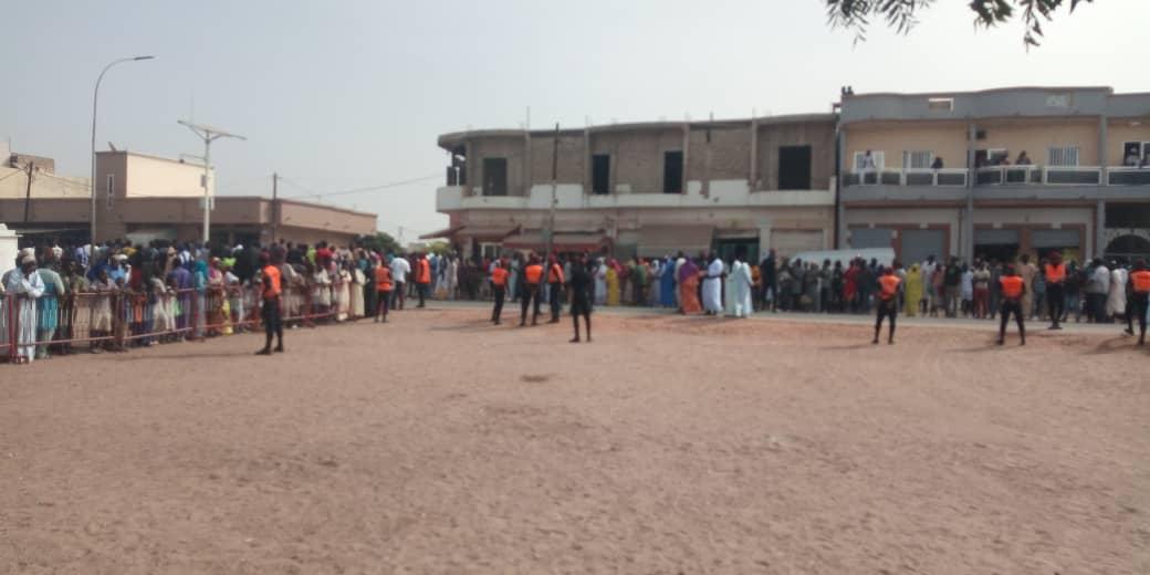Kaolack : Les premières images de l'accueil du khalife général des mourides à Touba Kaolack.
