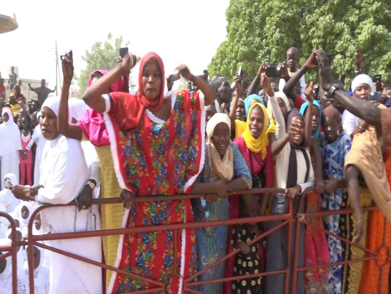 Touba Kaolack : Un accueil chaleureux au khalife général des mourides (Images).