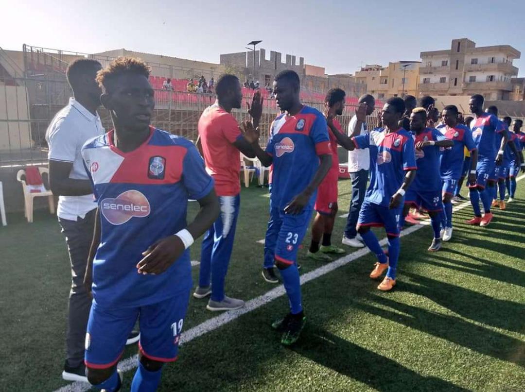 """9eme journée Ligue 1 : Les """"Gones"""" de Dakar Sacré-Cœur muets face à Niary Tally (0-0)."""