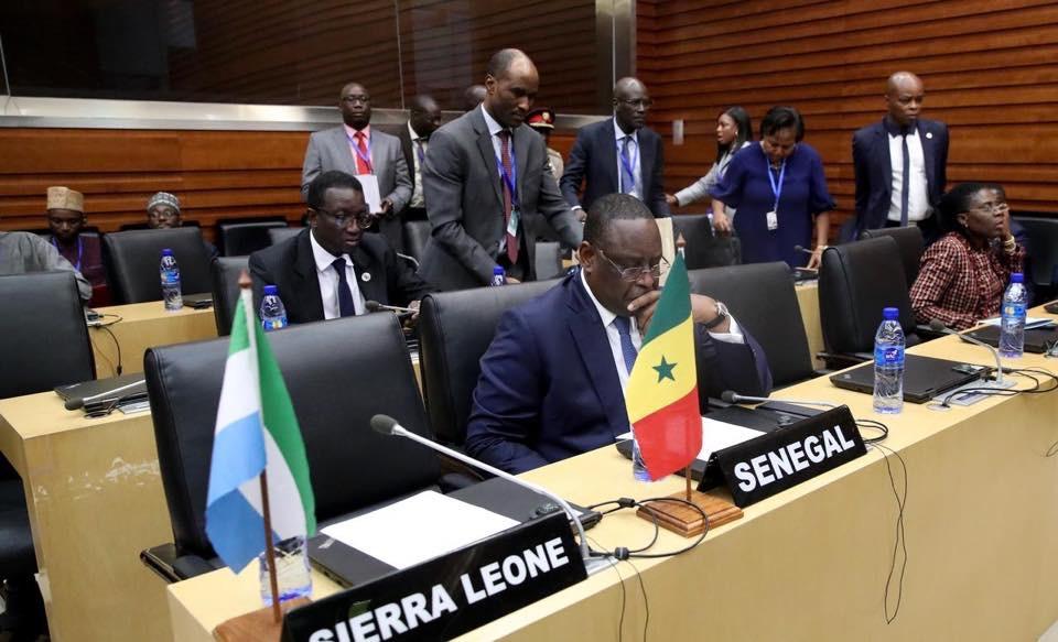 ADDIS-ABÉBA 2020 / Ce que le Président Sall a dit sur les élections Bissau-Guinéennes, la situation au Mali au Sahel et en Libye...