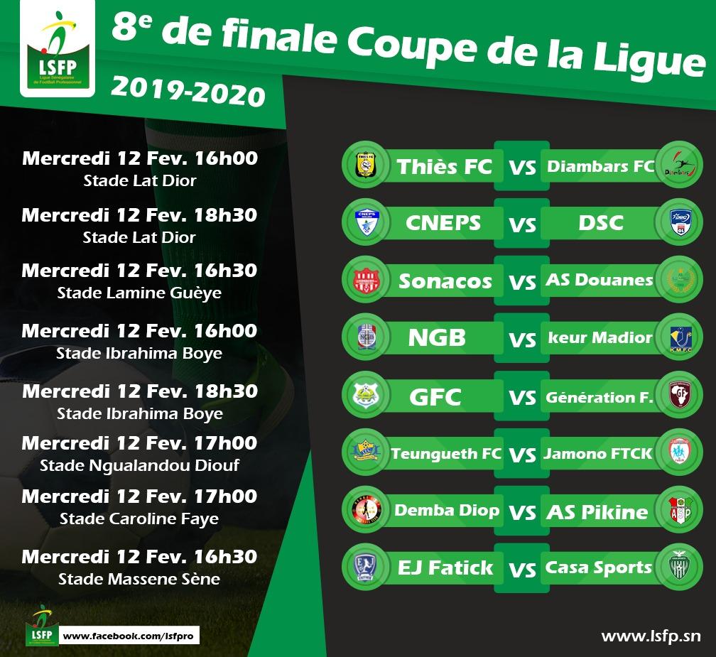 8e de finale de la Coupe de la Ligue : Cascade de belles affiches au menu, ce mercredi…