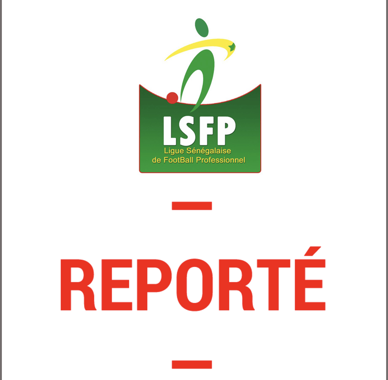 8e de finale coupe de la Ligue : Le match EJ Fatick – Casa reporté pour des raisons sécuritaires.