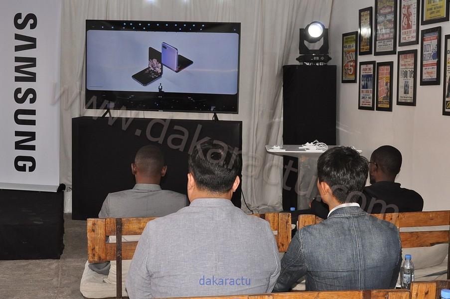 Cérémonie de lancement « Galaxy  S20 » : le nouveau produit de la marque SAMSUNG (Images)