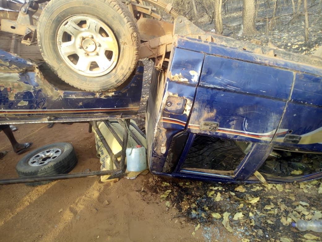 Accident sur l'axe Gandiaye-Kaolack : Le bilan s'alourdit en passant à 3 morts.