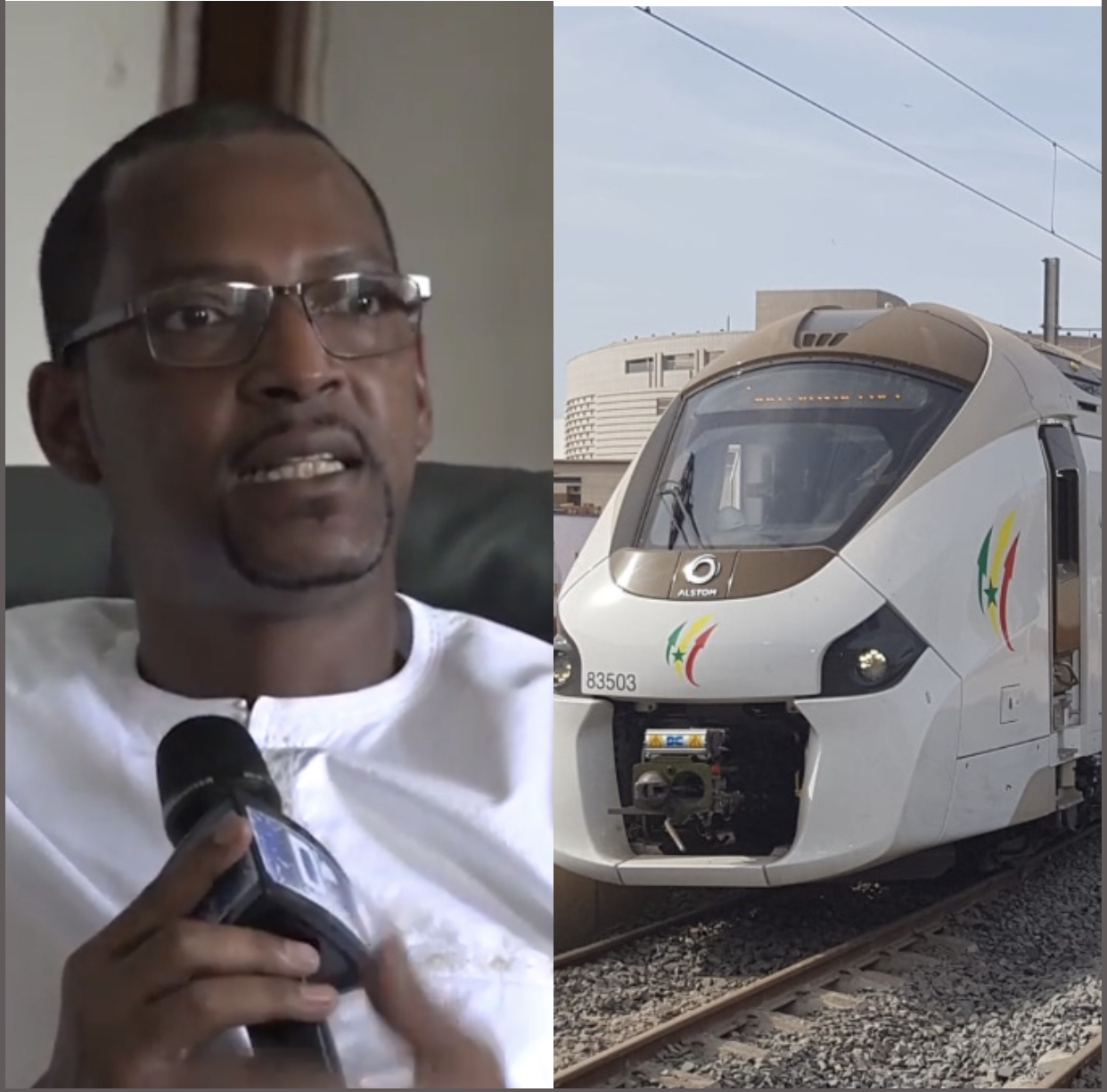 """MAME BOYE DIAO (Directeur des domaines) : """"Que je l'aie en 2025 ou en 2030, l'important pour le Sénégal c'est d'avoir le TER ! """""""